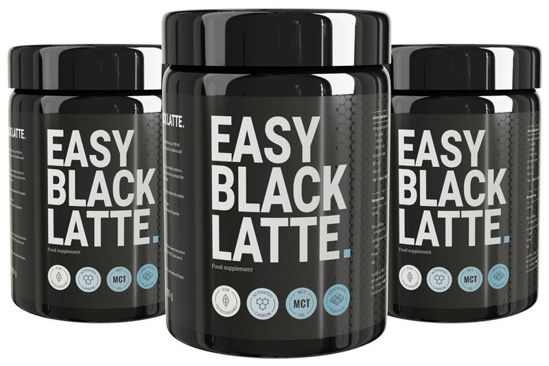 Easy Black Latte